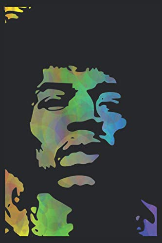 Jimi Hendrix Notebook: A 120 Pages Premium College Lined Notebook for Work, School or Writing - Great Journal For Women, Men or Kids - Elegant Notebook for Writing Random Thoughts.