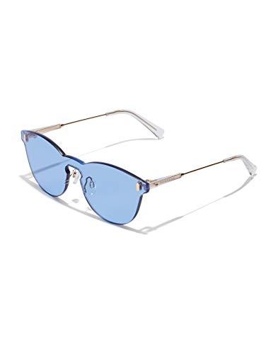 HAWKERS · ICY · Gold · Light Blue · Gafas de sol para hombre y mujer