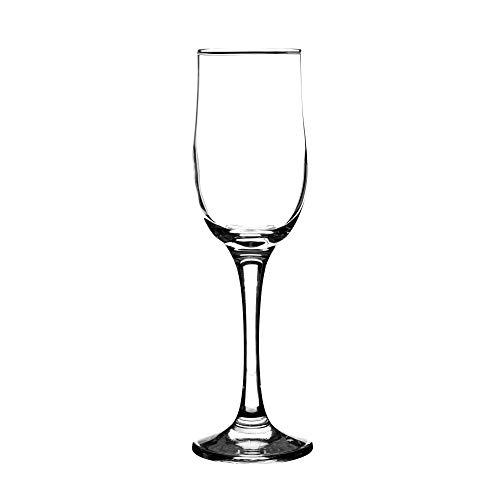 Ravenhead Tulip Flöte 20 cl Gläser, 4 Stück, Transparent