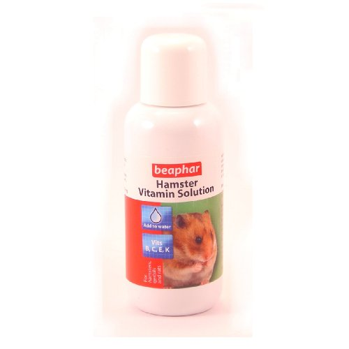 Beaphar Multivitamin Solution for Hamsters, 75 ml