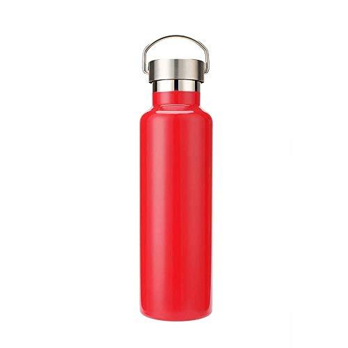 Koude fles, waterfles, dubbelwandig, vacuüm-geïsoleerde roestvrijstalen thermosfles, 12 uur warm, 24 uur koud, voor school, fitness, reizen, buiten, BPA-vrij 1000ml B