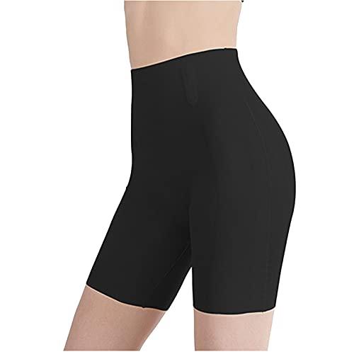 MOVERV Bragas Mujer Leggings Cortos Nalgas Bonitas de Cintura Alta para Mujer, Nalgas de melocotón, Pantalones para Vientre Bragas Seguridad Ropa Interior Slipshort para Running, Yoga y Ejercicio
