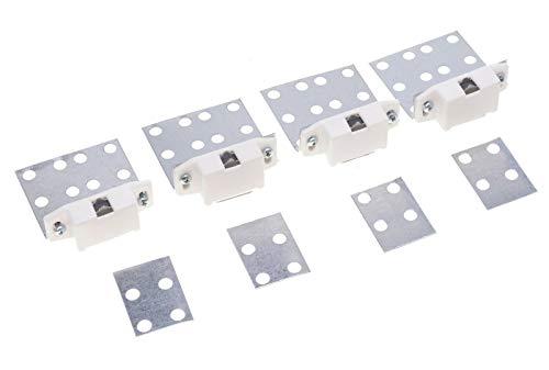4 tlg. Magnethalterung für Fliesen, Fliesenhalter mit Magnet