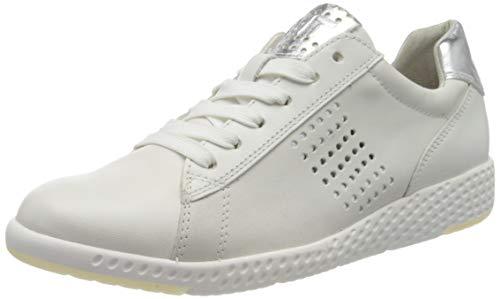 MARCO TOZZI 2-2-23766-24, Zapatillas Mujer, Blanco White Silver 191, 40 EU