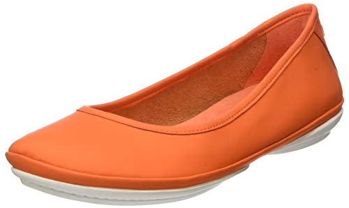 CAMPER Damen Right Nina' Geschlossene Ballerinas, Pink (Medium Orange 810), 35 EU