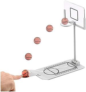 NicoSeeWonder Mini Desktop Tabletop Portable Basketball Game Set