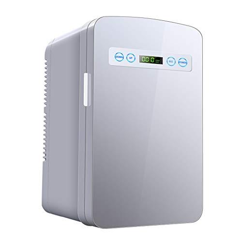 XMJ Mini-koelkast, 10 liter, klein, huis, slaapkamer, slaapzaal, verhuur, dual gebruik, studentdeur, 24 x 29 x 39 cm