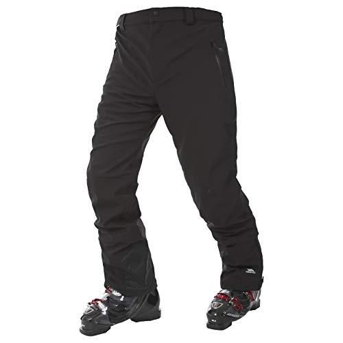 Trespass Mens Mens Westend Waterproof Stretch Softshell Ski Pants Black XXS - Waist 24-26' (60-67cm), Inside Leg 30'
