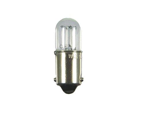 S+H Röhrenlampe Kleinröhrenlampe 10x28mm Sockel BA9s 110-130 Volt 20mA 2,4 Watt