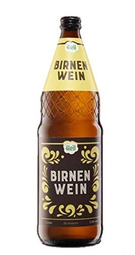 Birnenwein Fruchtwein Kelterei Heil 6 x 1 Liter inkl. MEHRWEG Pfand