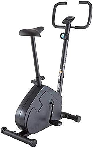 DJDLLZY Portátil Bicicleta Estatica Fija Cubierta Vertical de Bicicletas Bicicletas Deportes Bicicletas, Ajustable, Ancho del Amortiguador, Pantalla LCD es Suave y silencioso