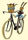 Fahrrad, Postkarten