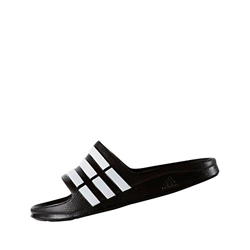 Adidas Duramo Slide, Zapatillas Unisex Niños, Negro (Black 1/Running White/Black 1), 28 EU (10.5 UK)