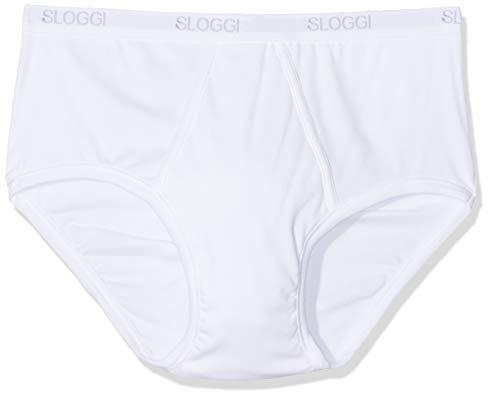 Sloggi Men Basic Maxi Mutande, Uomo, bianco, 8 (Taglia produttore: XX-Large)