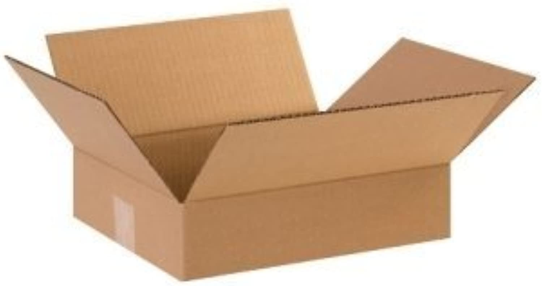 Flat Corrugated Boxes, 12  x 10    x 3  - 25 EACH PER BUNDLE [PRICE is per BUNDLE] by Shipping Supply B018ORGL6C    | Spielzeugwelt, fröhlicher Ozean  68676b