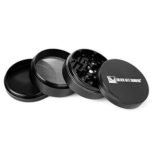 Golden Gate 4 Piece Grinder