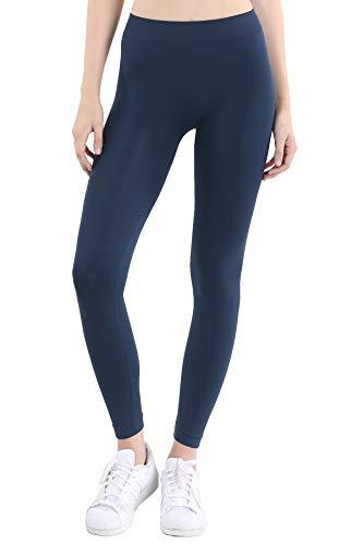 NIKIBIKI Women Seamless Base Layer Legging Tights, Made in U.S.A, One...