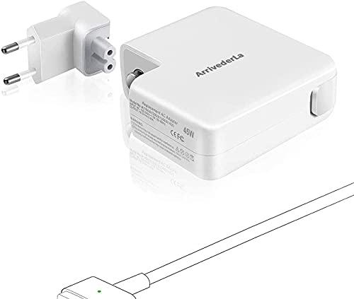 Cargador Adaptador Compatible con Mac Book Air, 45W Adaptador de Corriente T para,Cargador MacBook, MacBook Air 11' 13' Pulgadas A1466/A1465/A1436/A1435 - Mac Book Air 2012-2018