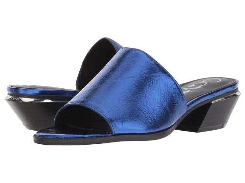 モスク言語疲労Calvin Klein(カルバンクライン) レディース 女性用 シューズ 靴 ヒール Narissa - Royal Blue Thrill Metallic [並行輸入品]