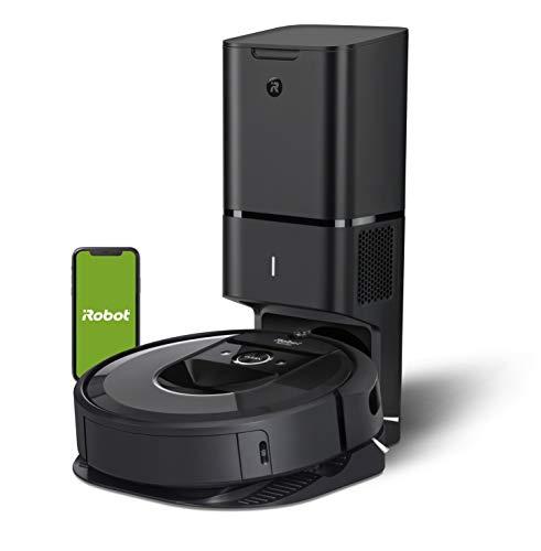 iRobot Roomba i7+ Robot Aspirador Roomba i7+ con con Estación de Limpieza Automática, Color, Pack of/Paquete de 1