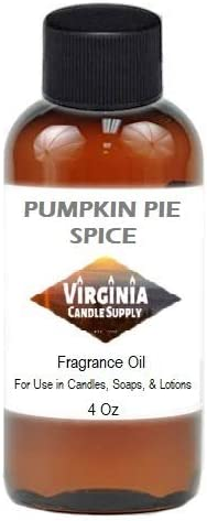 Pumpkin Pie Spice Fragrance Oil 4 Candle Making Cheap bargain oz Bottle for Translated