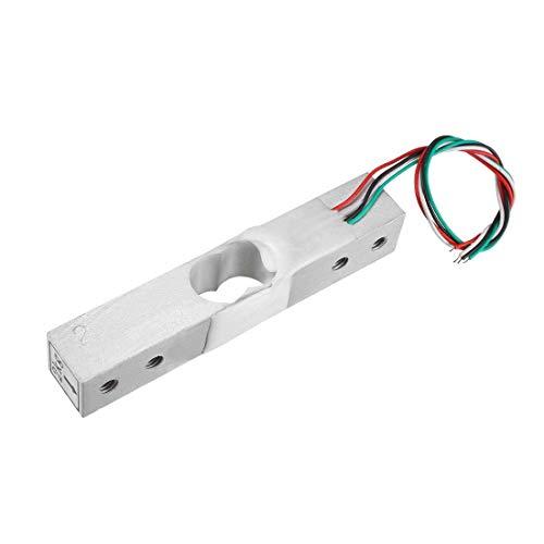 N/D - Báscula electrónica de pesaje de 2 kg con sensor de pesaje de célula de carga con cable 1 unidad para Báscula de cocina, Báscula de baño de cuerpo humano, báscula de joyas