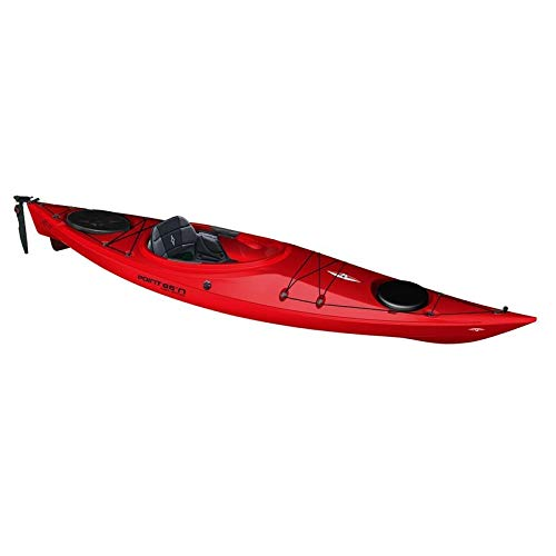 Point65 XO11 GT Kajak Kayak Wanderkajak Einerkajak Freizeitkajak Einsteigerkajak, Farbe:Rot