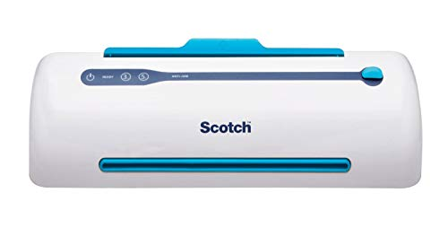 Scotch Brand Pro Thermal Laminator, Never Jam Technology Automatically Prevents Misfed Items, 2 Roller System, 9 inch (TL906) , White, Green