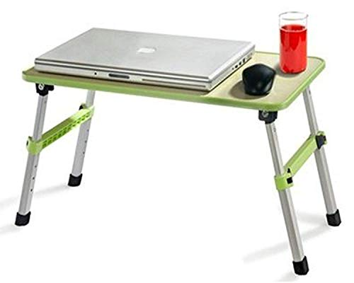 Sevia Multipurpose Laptop/Bed Table with Adjustable Non-Skid Foldable Legs