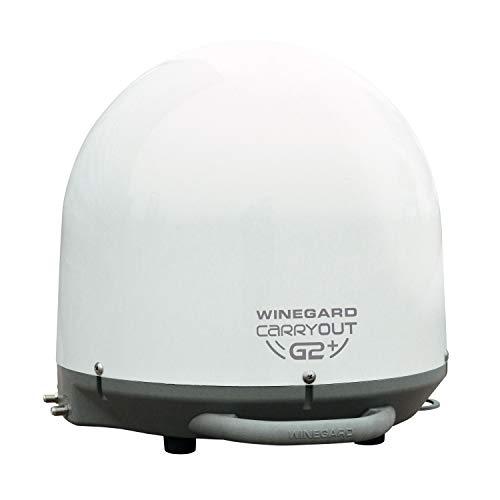 Winegard GM-6000 Carryout G2+ Automatic Portable Satellite TV Antenna with Power Inserter (RV Satellite for DIRECTV, Dish, BellTV)