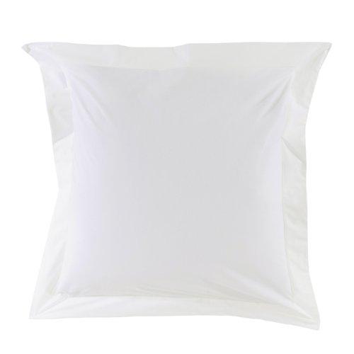 Essix - Taie d'oreiller Star Line Coton Blanc 50 x 70 cm