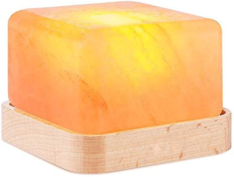 3D StimmungslichterSalzlampennachtlicht, quadratische romantische warme Beleuchtungsgeschenke