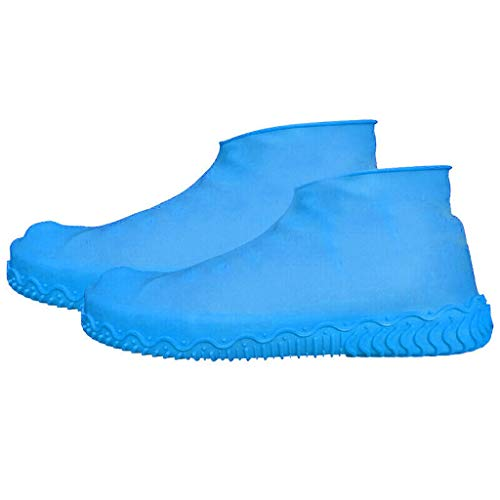 Xuthuly Überschuhe Regen wasserdichte Überschuhe Boot Cover Protector recycelbar