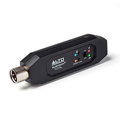 Alto Professional Bluetooth Total MK2 - Receptor Bluetooth recargable con XLR para mesa de mezclas, configuraciones de mezcladores de audio y sistemas PA activos