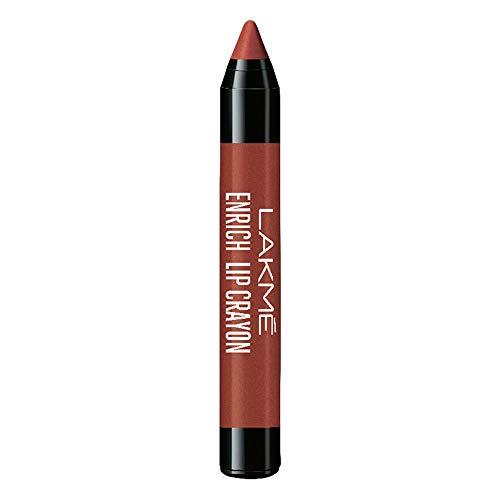 Lakmé Enrich Lip Crayon, Cinnamon Brown, 2.2g