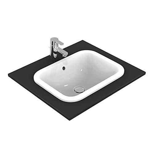 Ideal Standard Connect Aufsatzwaschbecken E505701, rechteckig mit Überlauf 500x 380x 175mm Weiß