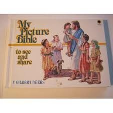 Hardcover My Picture Reading Bible to See and Share Book