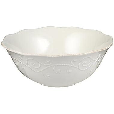 Lenox French Perle Serve Bowl, White