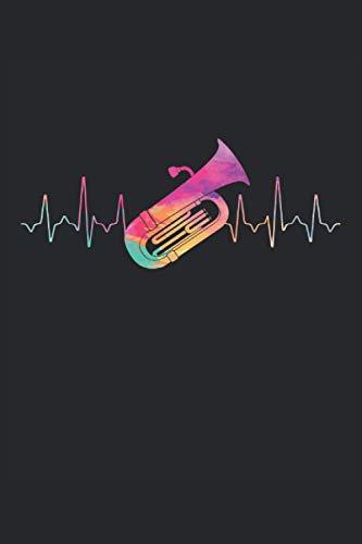 Terminplaner 2021: Terminkalender für 2021 mit Heartbeat Tuba Cover | Wochenplaner | elegantes Softcover | A5 | To Do Liste | Platz für Notizen | für Familie, Beruf, Studium und Schule