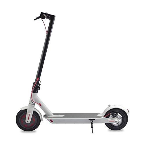 LJJLJJ Conveniente Scooter EléCtrico Plegable, Bicicleta De Equilibrio, 25 (Km/H), Potencia del...