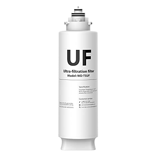 Waterdrop TSUF Ultra-Filtration Under Sink Water...