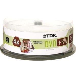 TDK 4x DVD-RW Media (48332) -