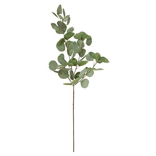 東京堂 造花 グリーン 葉の全長 約4~6.5×全長 約90cm MAGIQブランド ユーカリポポラス FG105900