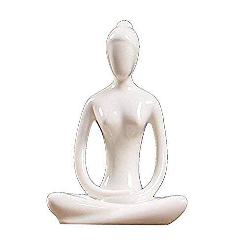 WEHOLY Statua Scultura Decorazione t Decorazione statuina Statue da scrivania Sculture Gioielli di Cactus e Decorazione di Cactus Simulazione di Piante grasse in Ceramica