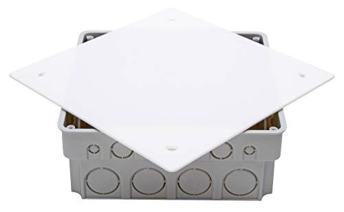 Kopp 356103006 Unterputz-Abzweigkasten, 165x165x65 mm