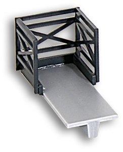 Kibri 39754 - Konsolenträger mit Geländer für Oberleitungsmasten H0