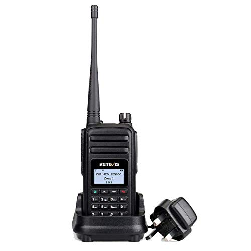 Retevis RT80 DMR Walkie Talkie Digital Amateur Ham Radio FM Digital Two Way...