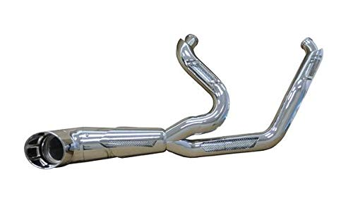 Bagger Brothers BB-FE2001-CHR-Cronus-CH Maverick 2-Into-1 Exhaust for 2017 and Newer Harley-Davidson Touring/Dresser headers and Chrome Cronus Billet Tip