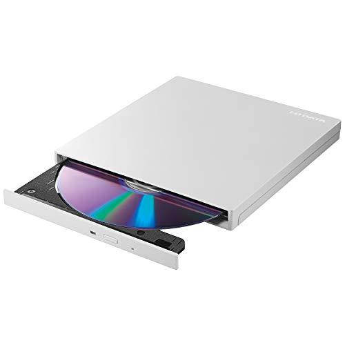 I-O DATA 外付け DVDドライブ 薄型 ポータブル USB3.2 Gen1 (USB3.0) 国内メーカー バスパワー Win Mac EX-...