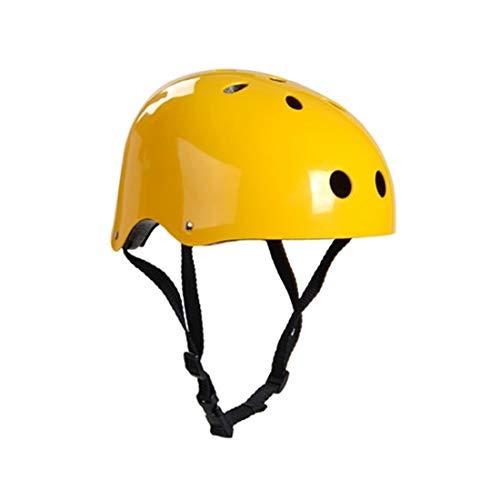Tuzi Qiuge Kletterausrüstung Schutzhelm Höhlenrettung Kinder Erwachsenenhelm Entwicklung Outdoor Wandern Skifahren Zubehör Geeignet Kopfumfang: 54-57cm, Größe M QiuGe